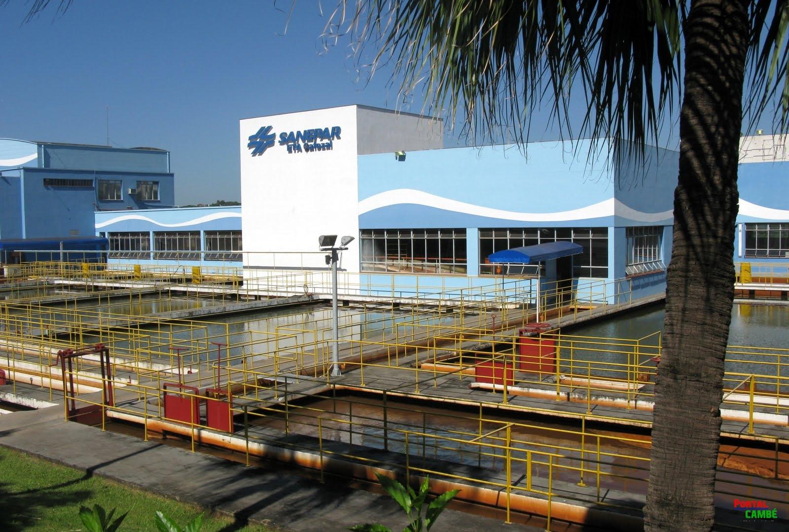 Sanepar comunica interrompimento no abastecimento em Cambé no próximo domingo (2)