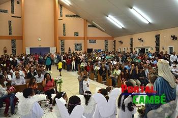 Comunidade do Novo Bandeirantes realiza Coroação de Nossa Senhora dos Migrantes