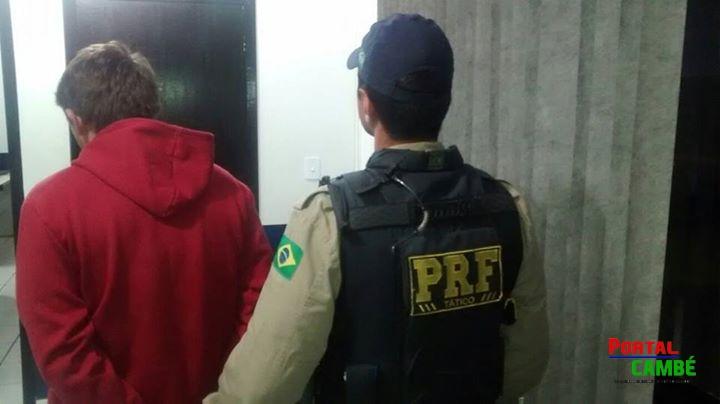 PRF detém homem procurado pela Justiça por estupro de vulnerável