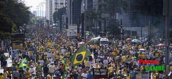 Manifestações pelo país ocorreram sem incidentes