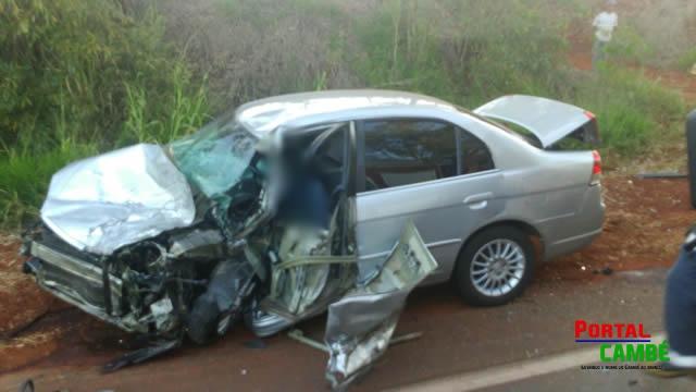 Grave acidente causa duas mortes no Distrito de Warta
