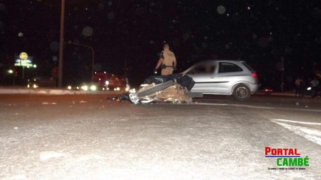 Grave acidente na BR-369 resulta na morte de uma pessoa em Cambé