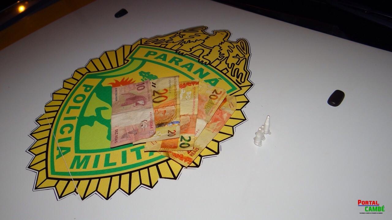 Jovem é preso com drogas no Jardim Josiane em Cambé