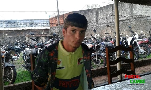 Alef Costa Medeiros, 19 anos - Cambé