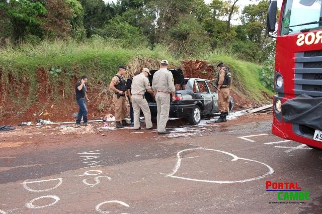 Corpo de homem é queimado dentro de porta malas de veículo em Cambé