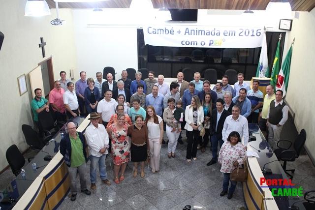 Jornalista Bene Filho assumiu a presidência do PSD de Cambé