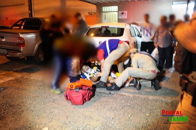 Tentativa de homicídio deixa jovem de 26 anos gravemente ferido em Cambé