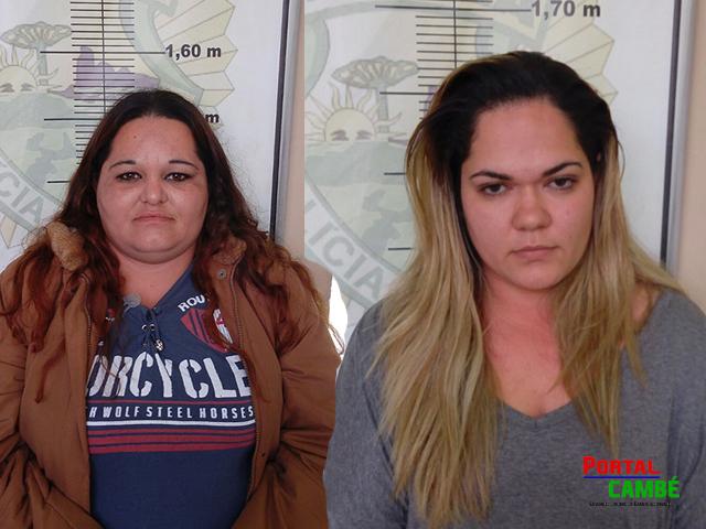 Nas partes intimas: Duas mulheres foram presas tentando entrar com drogas na Cadeia de Cambé