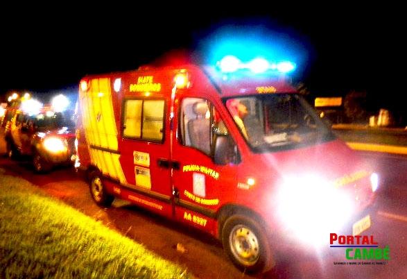 Homem morre atropelado na PR 445 em Cambé