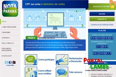 Programa Nota Paraná não traz riscos aos consumidores