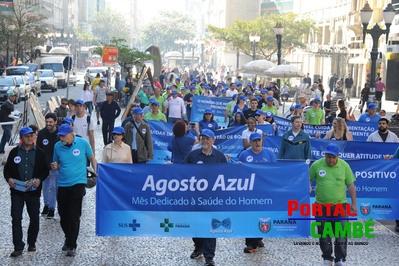 Campanha Agosto Azul incentiva homens a cuidar melhor da saúde