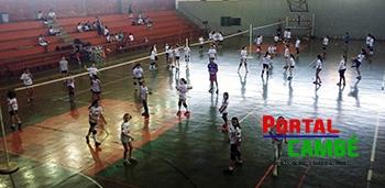 Cambé realiza o 12º Festival do Projeto de Voleibol
