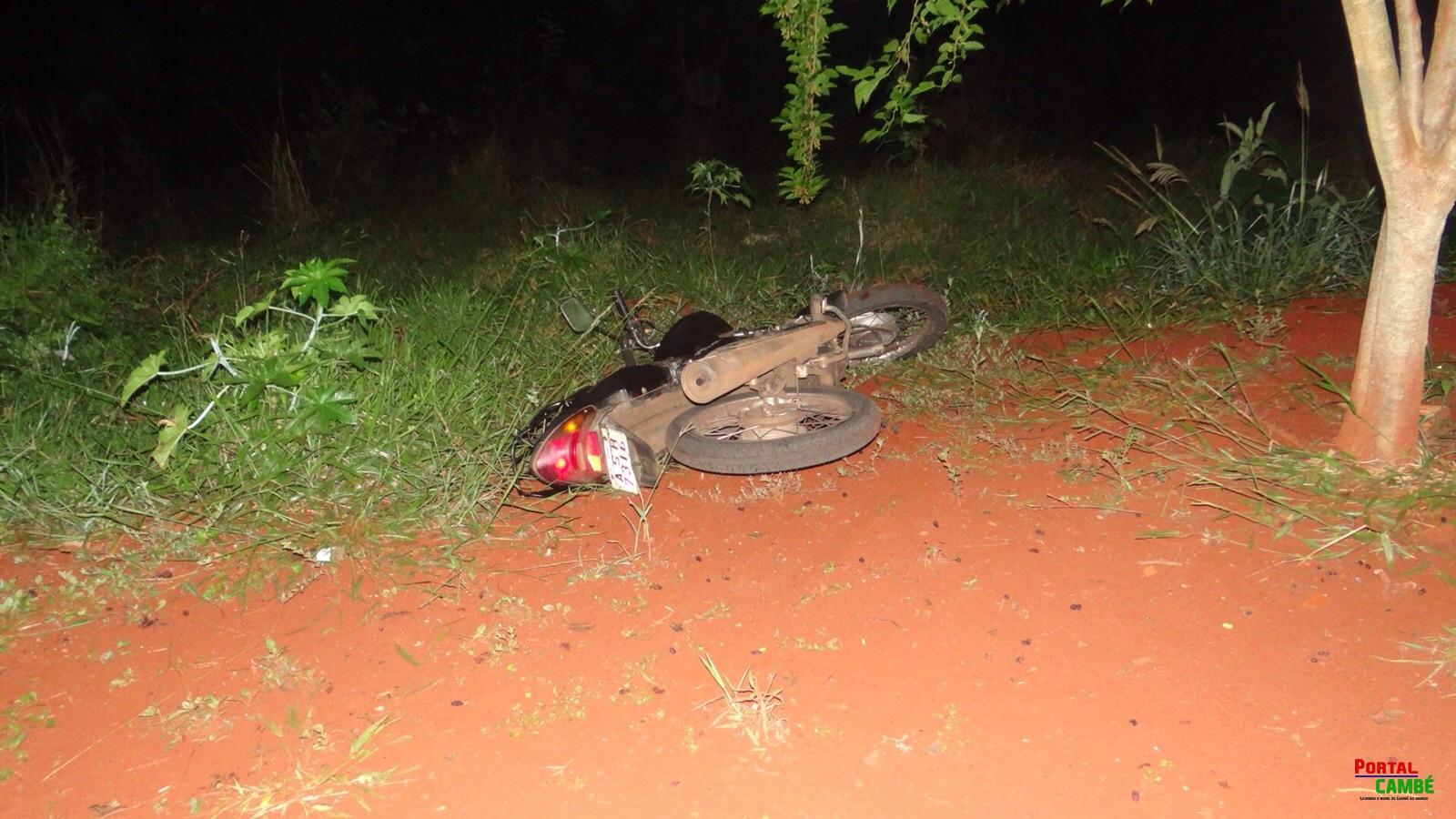Motocicleta de mototaxista morto é encontrada abandonada no fundo de vale em Cambé
