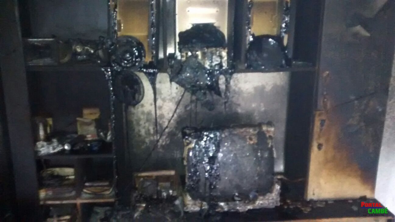 Londrina: marido incendeia casa após discutir com a esposa; 3 sofrem queimaduras