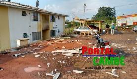 Chuva forte afeta pelo menos 4,4 mil pessoas em Santa Catarina