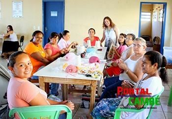 CRAS Ana Rosa realiza oficinas no Centro Comunitário do Jardim Tupi