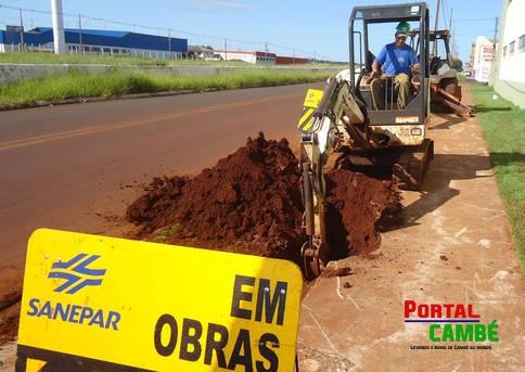 Obras do Sistema Tibagi afetam abastecimento emCambé e Londrina no domingo