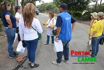 Prefeitura realiza mutirão contra a dengue neste sábado na região do Santo Amaro e Manela