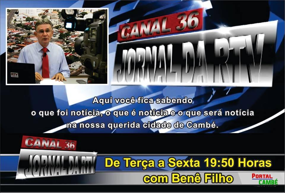 Comentário Benê Filho – RTV Canal 36, Cambé (Vídeo)
