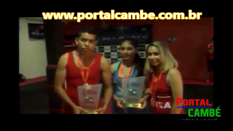 Alunos de Cambé foram campeões nos Jogos Escolares 2015 na Categoria Luta Olímpica (Vídeo)