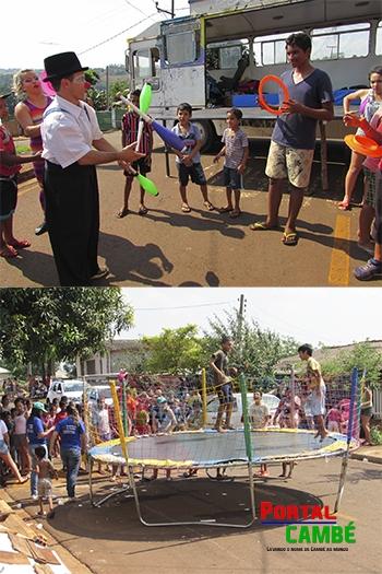Assistência Social realiza a Festa das Crianças no Jardim Campos Verdes