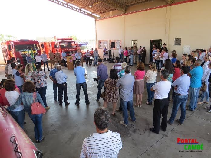 Corpo de Bombeiros de Cambé convoca a população para fazer parte de Defesa Civil (Vídeo)