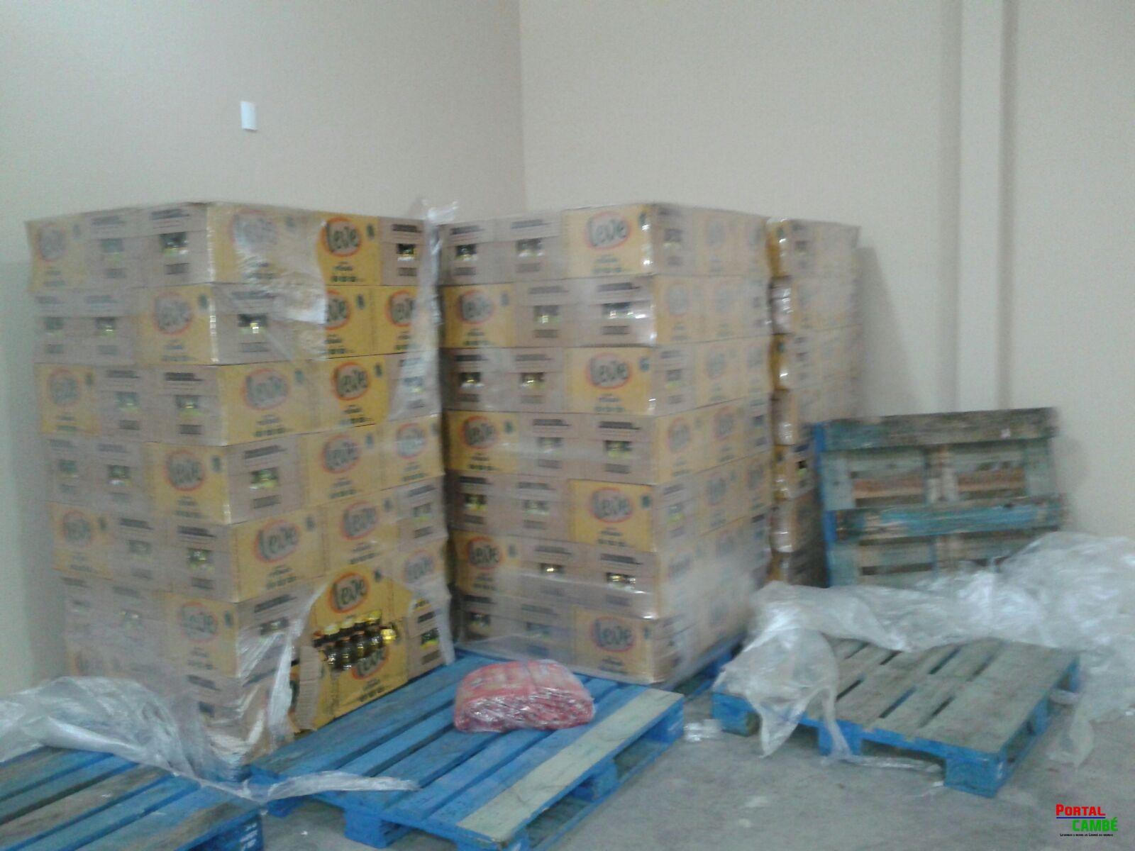 Polícia Civil encontra deposito com mais mercadorias receptadas em Cambé (Vídeo)