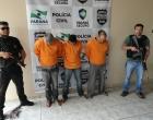 Londrinenses são presos em Maringá acusados de furtar caminhões