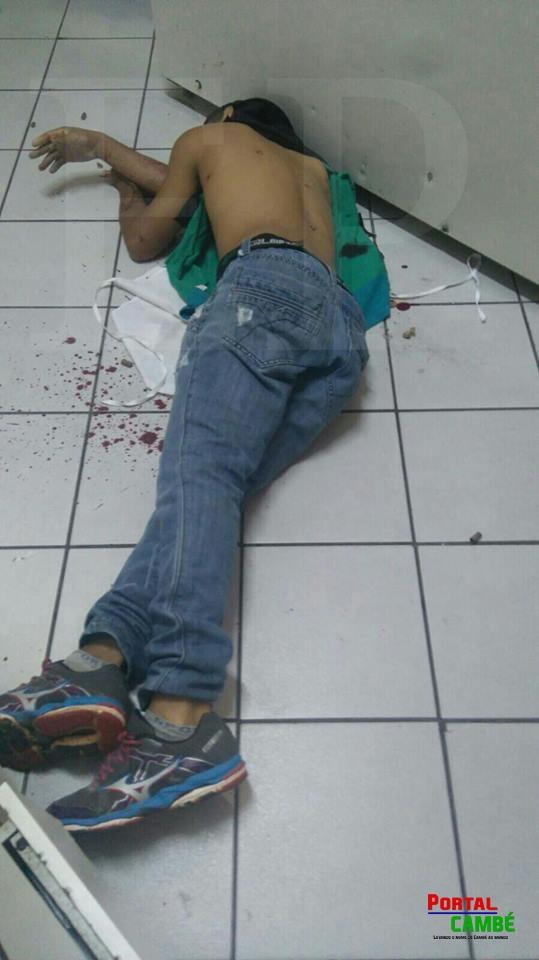 Jovem é executado com pistola .40 em Londrina