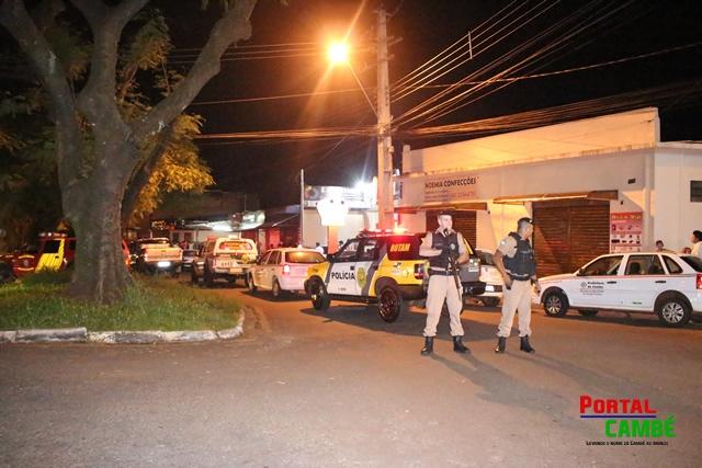 Capotamento é registrado na BR 369 próximo ao motel Tróia em Cambé