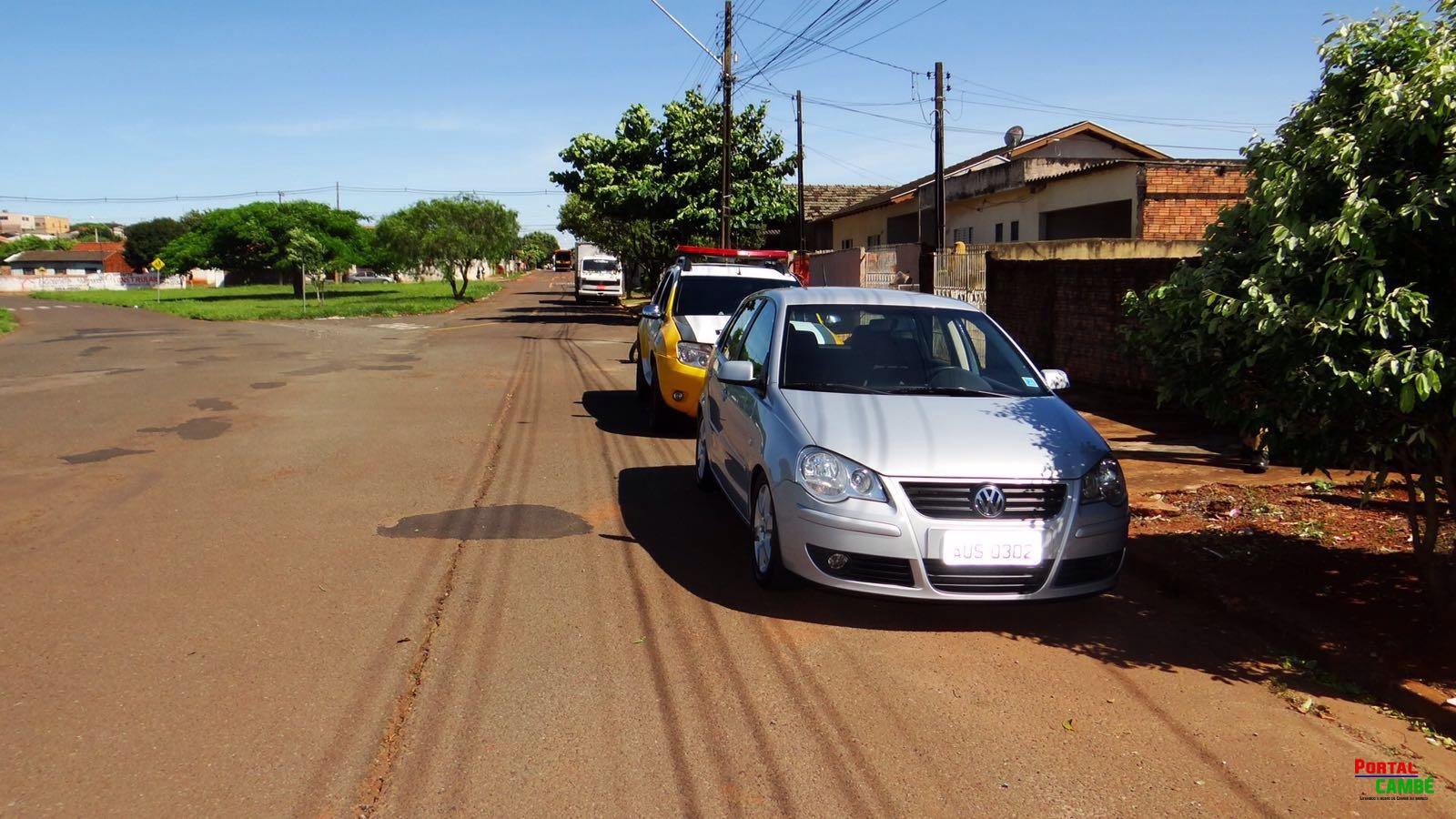 Polícia recupera carro levado após assalto no Jardim Bela Vista em Cambé