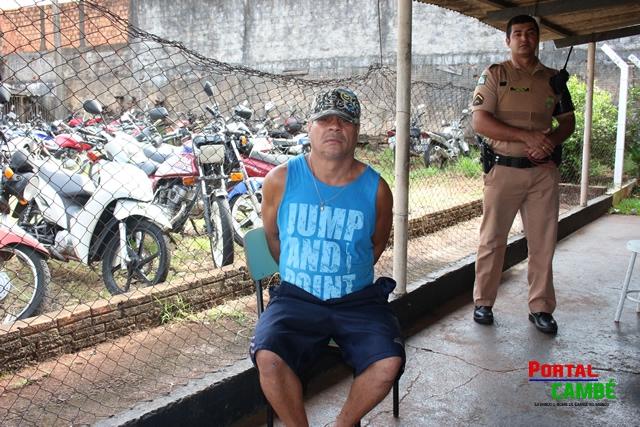 Condenado por estupro de vulnerável é preso pela Policia Militar de Cambé