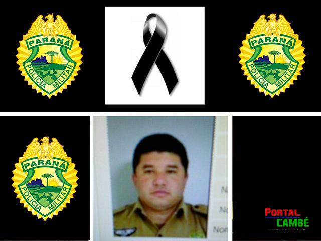 Policial morto em Londrina recebe homenagem antes de ser sepultado