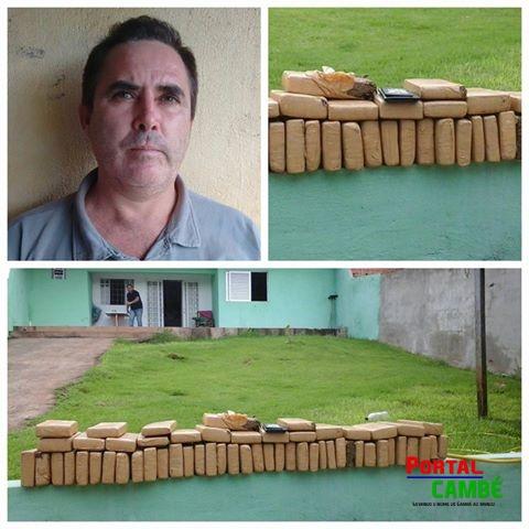 Polícia Civil apreende 43 kg de maconha em Londrina