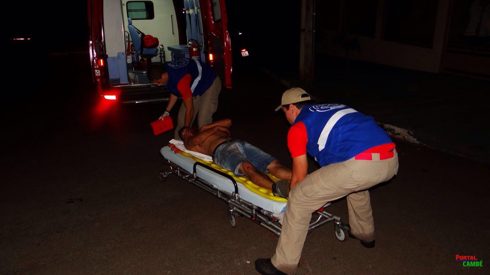 Homem é agredido e fica ferido no Jardim União em Cambé