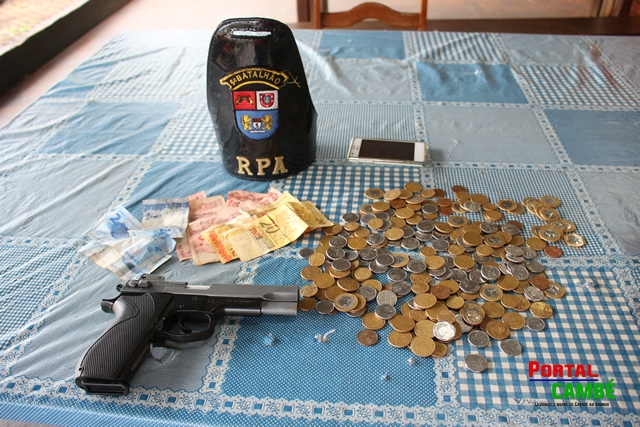Ação rápida da Polícia Militar apreende menor logo após roubar padaria em Cambé
