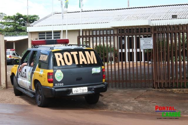 Tentativa de rebelião na cadeia publica de Cambé