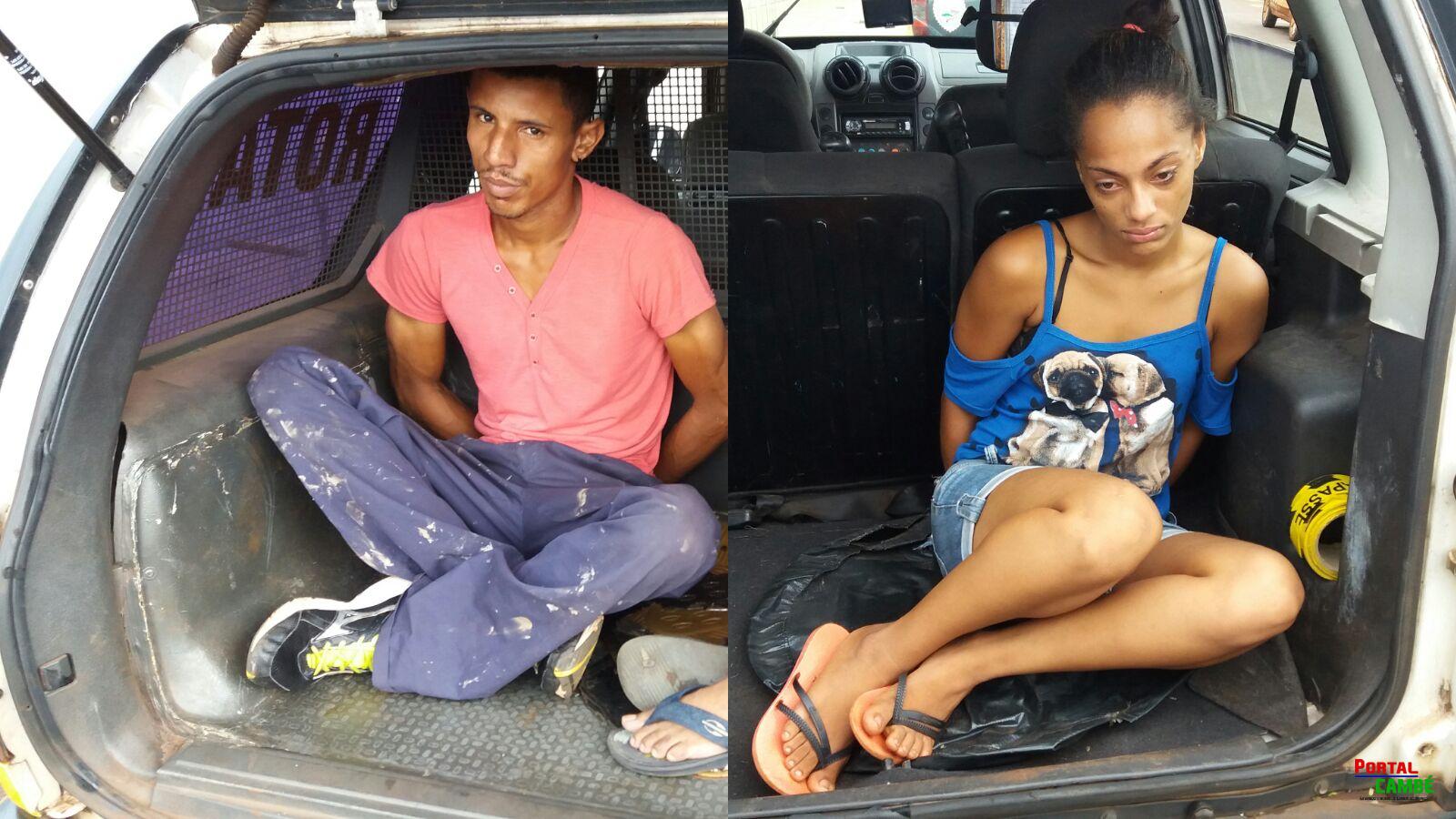 Polícia Militar prende dupla suspeita de diversos roubos em Cambé e Londrina