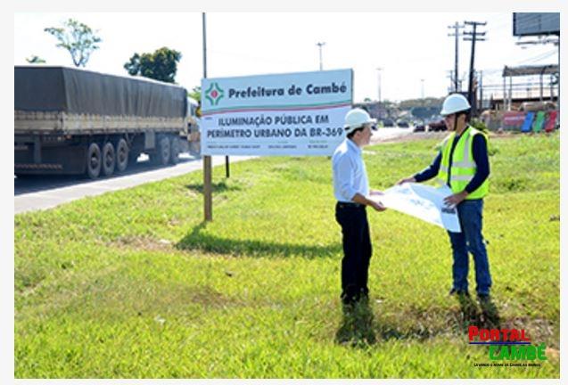 Prefeitura de Cambé é investigada sobre possível irregularidade na contratação de obra na BR 369