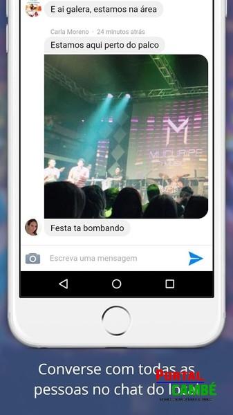 Conheça e converse com pessoas que estão em um mesmo local com o Spotchat