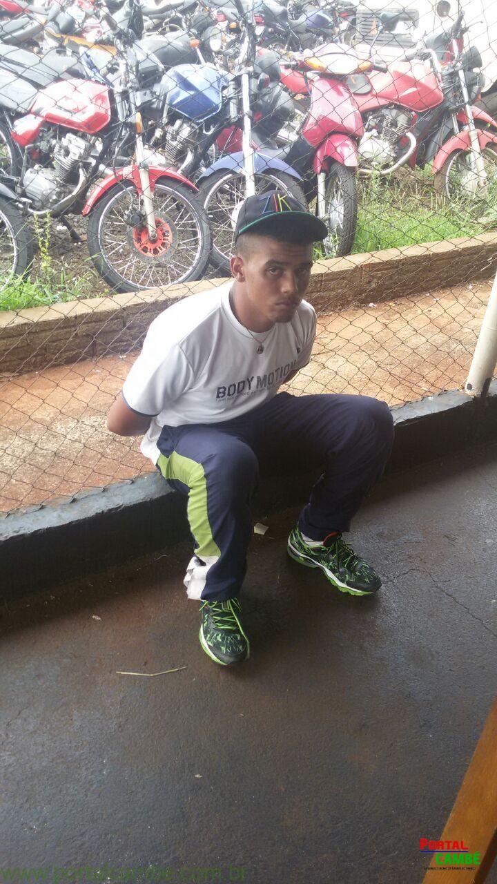 Rapaz é preso pela Lei Maria da Penha em Cambé