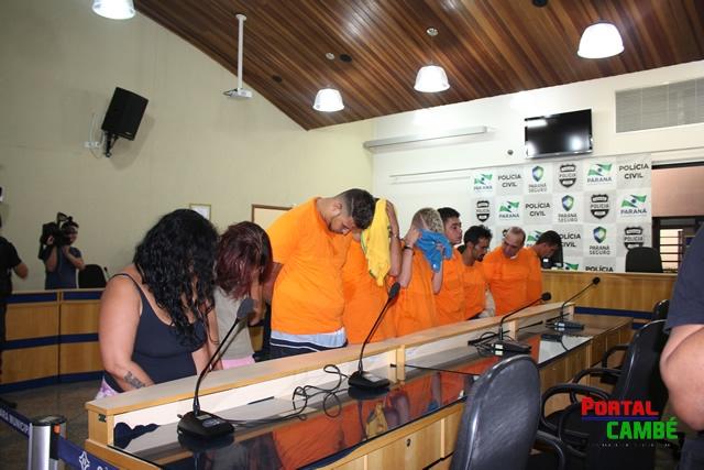 """""""DEIMOS"""": Operação da Polícia Civil desarticula quadrilha especializada em Cambé"""