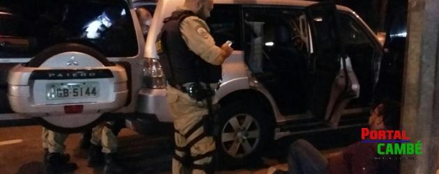 Morador de Cambé é preso com cocaína e armas no estado de Minas Gerais