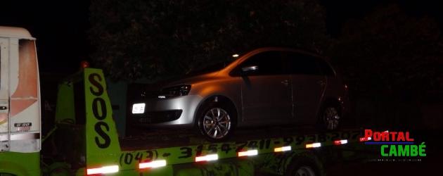 Veículo roubado em Londrina é encontrado abandonado no Jardim Riviera em Cambé
