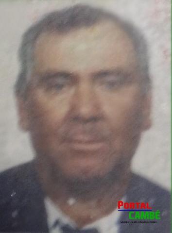 João Batista Paes de 60 anos