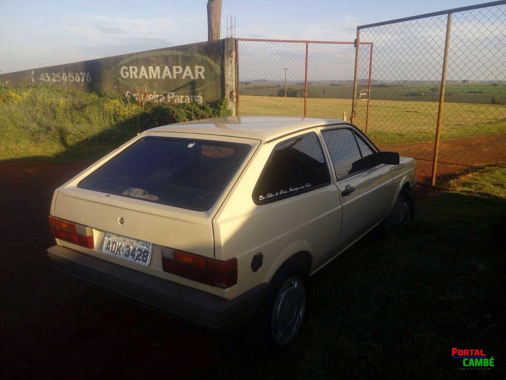 Veículo furtado no Jardim Santo Amaro é encontrado abandonado na Estrada da Esperança em Cambé