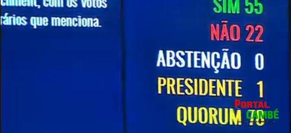 Confira como foi a votação no Senado por parlamentar, partido e estado