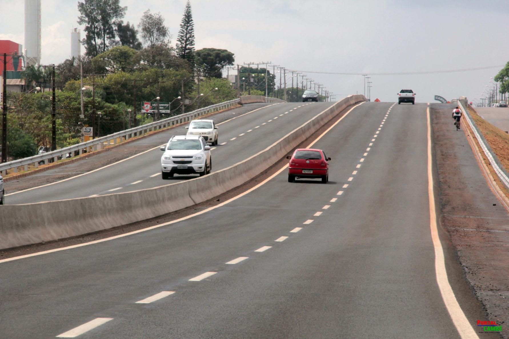 Duplicação da PR-445 reduz em 73% os acidentes entre Londrina e Cambé