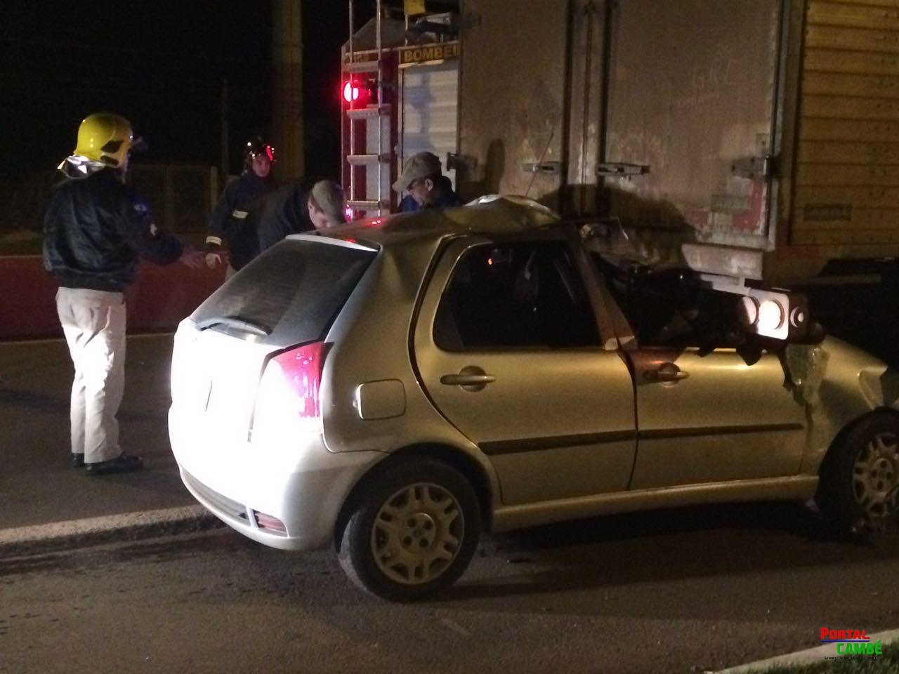Segunda Chance: Motorista escapa da morte em acidente na PR 445 em Cambé