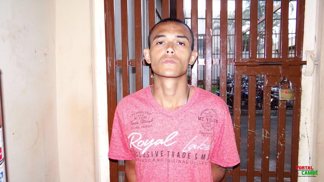 Foragido da justiça condenado por roubo é preso no Jardim Ana Rosa em Cambé